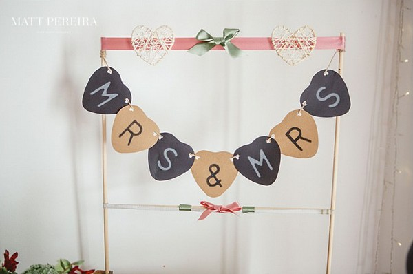 Mrs and Mrs sign