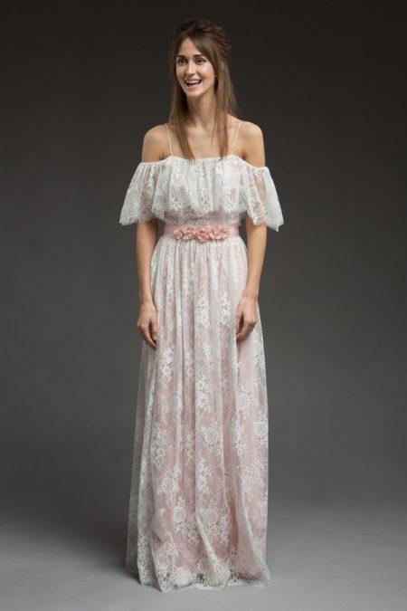 Adele Wedding Dress from the Katya Katya Shehurina Morning Mist 2017-2018 Collection