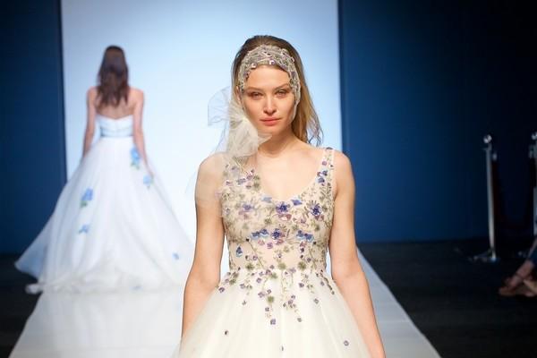 Alan Hannah Veritas 2018 Bridal Collection Enchanted Garden Dress