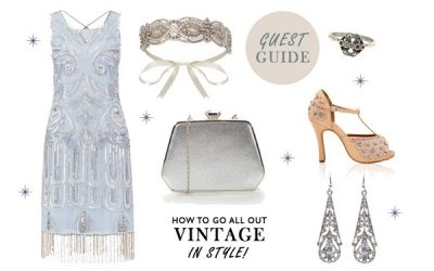 Choosing a Wedding Guest Outfit for a Vintage Wedding