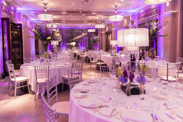 Art Deco Connaught Wedding Planned by Lamare London