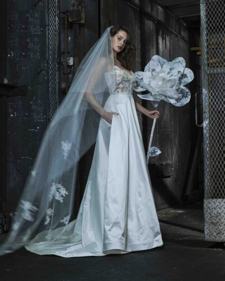 Beatrice wedding dress from the Elbeth Gillis Mystique 2018 collection