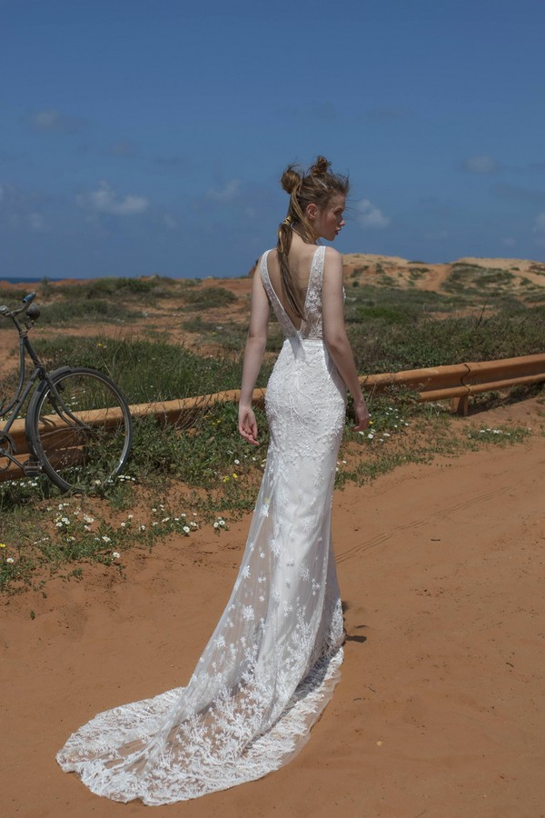 Back of Cameron Wedding Dress from Limor Rosen Free Spirit 2018 Collection