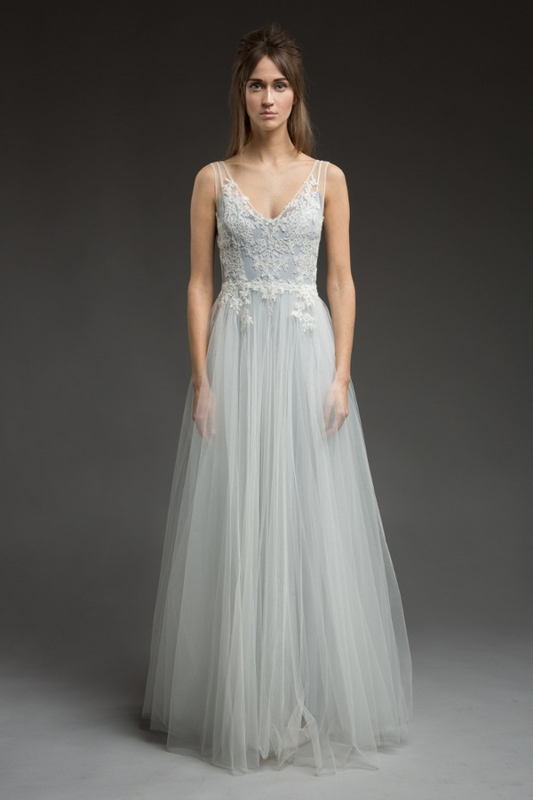 Chantilly Wedding Dress from the Katya Katya Shehurina Morning Mist 2017-2018 Collection