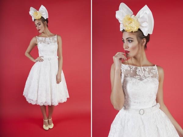 Cherry Baby Wedding Dress by Kitty and Dulcie