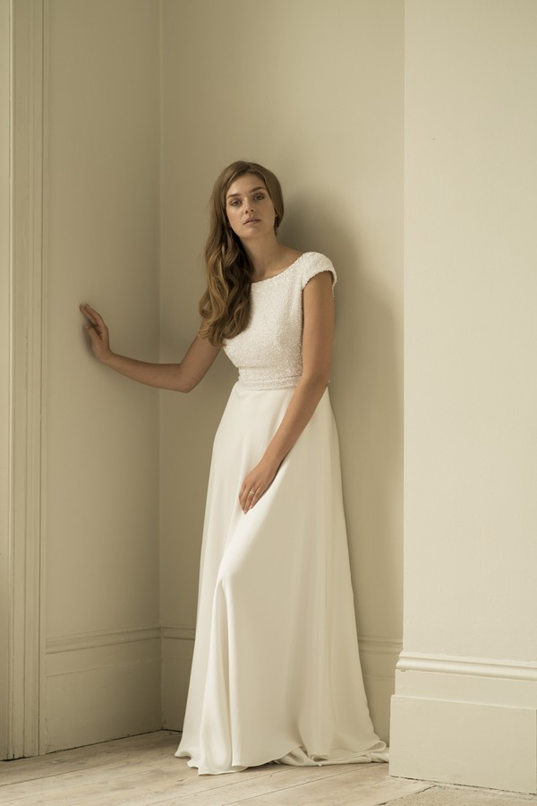 Cleo Wedding Dress from the Andrea Hawkes 2018 Collection