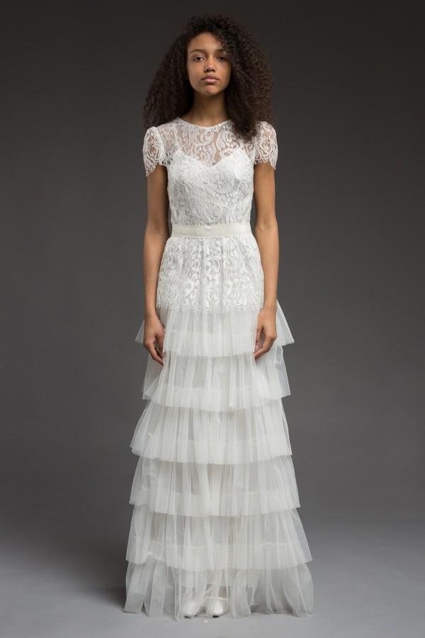 Cyrene Wedding Dress from the Katya Katya Shehurina Morning Mist 2017-2018 Collection