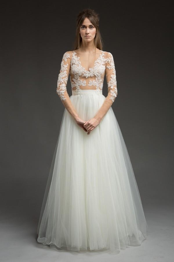Deliah Wedding Dress from the Katya Katya Shehurina Morning Mist 2017-2018 Collection
