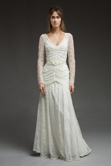 Demelza Wedding Dress from the Katya Katya Shehurina Morning Mist 2017-2018 Collection
