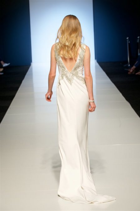 Back of Dixie Wedding Dress from the Alan Hannah Veritas 2018 Collection