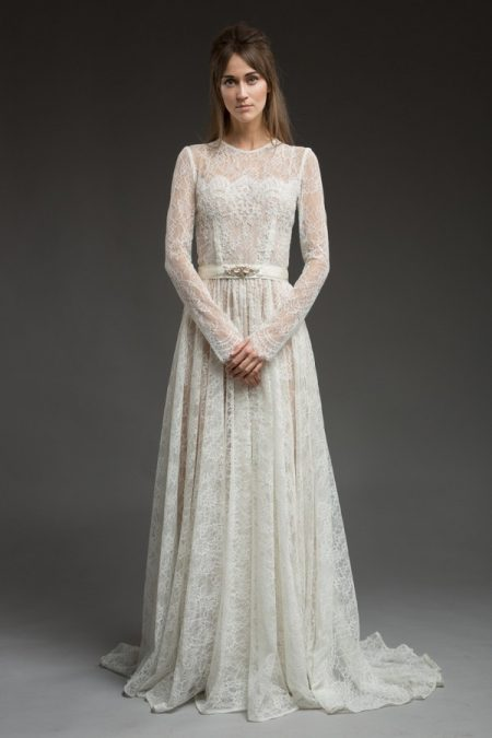 Elizabella Wedding Dress from the Katya Katya Shehurina Morning Mist 2017-2018 Collection