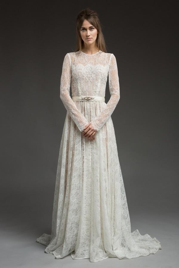 Elizabella Wedding Dress from the Katya Katya Shehurina Morning Mist 2017-2018 Collection
