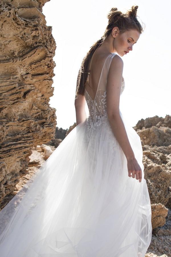 Back of Emilia Wedding Dress from Limor Rosen Free Spirit 2018 Collection