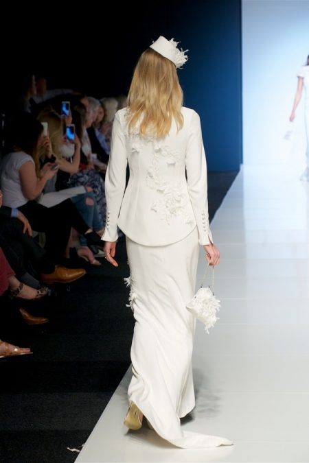 Back of Erica Wedding Dress from the Alan Hannah Veritas 2018 Collection