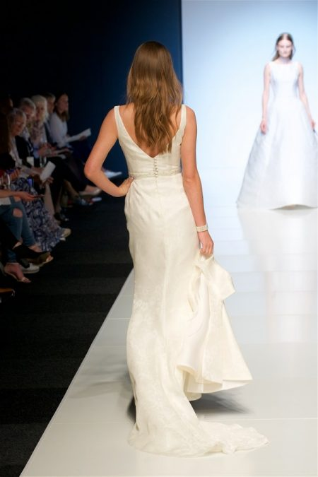 Back of Fay Wedding Dress from the Alan Hannah Veritas 2018 Collection