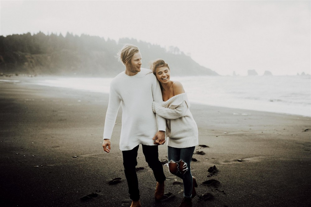 An Engagement Shoot in La Push, Washington