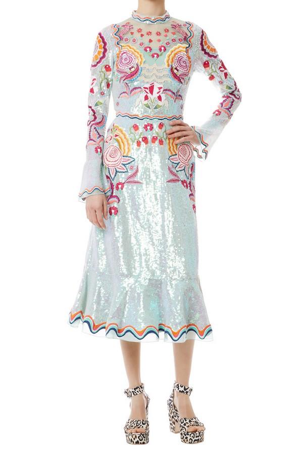 Glint Midi Show Dress by Temperley London