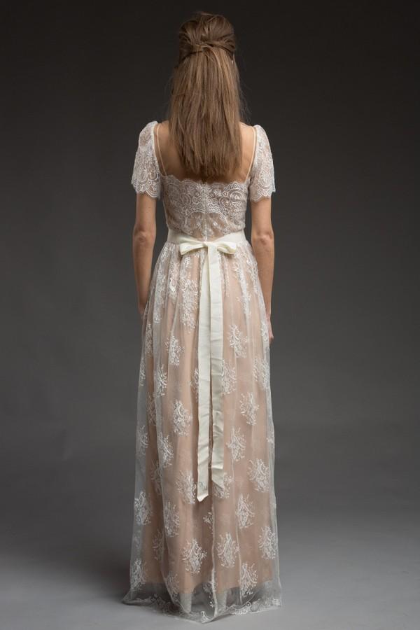 Back of Godiva Wedding Dress from the Katya Katya Shehurina Morning Mist 2017-2018 Collection