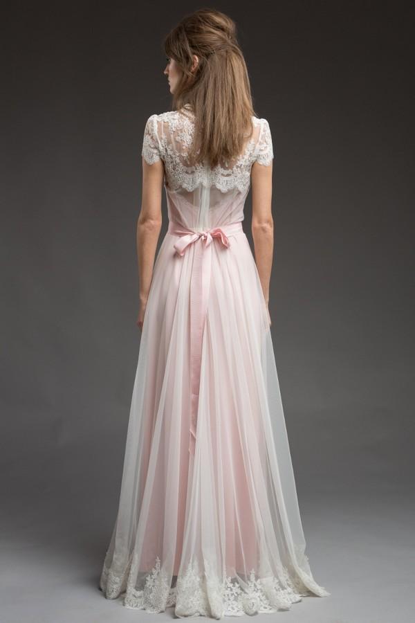 Back of Harper Wedding Dress from the Katya Katya Shehurina Morning Mist 2017-2018 Collection
