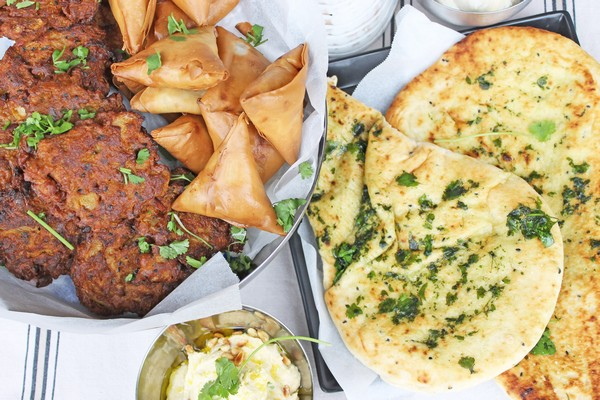 Indian Takeaway Food