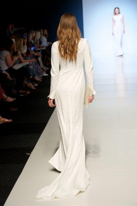 Back of Irina Wedding Dress from the Alan Hannah Veritas 2018 Collection