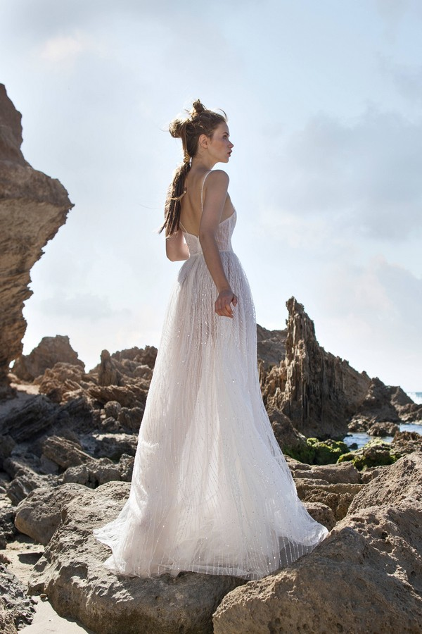 Back of Kate Wedding Dress from Limor Rosen Free Spirit 2018 Collection