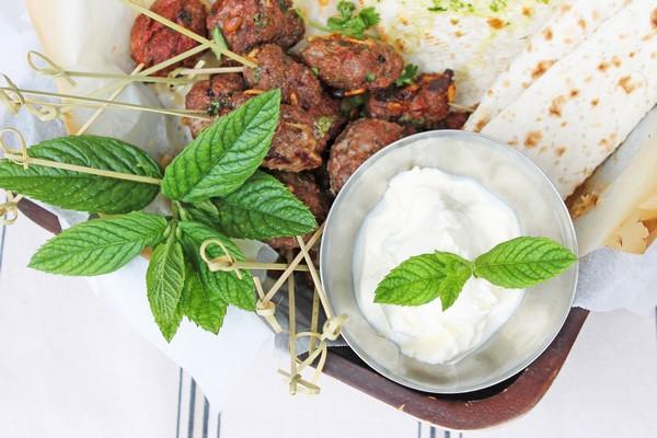 Lamb Kofta Kebab Skewers