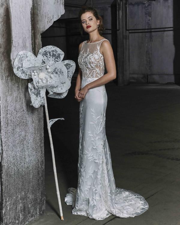 Laurel wedding dress from the Elbeth Gillis Mystique 2018 collection