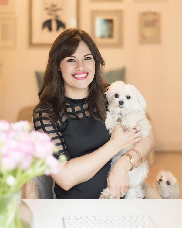 Liesl Lamare with Her Dogs
