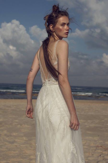 Back of Lola Wedding Dress from Limor Rosen Free Spirit 2018 Collection