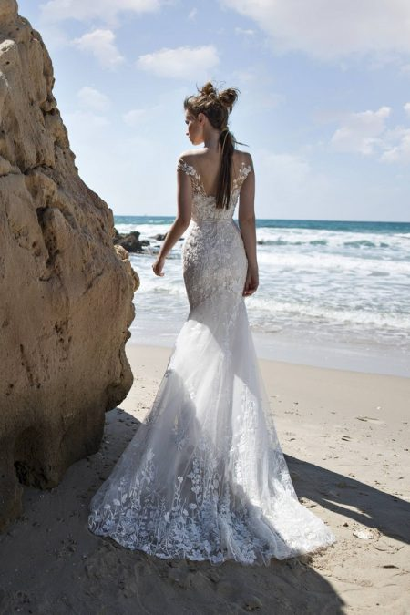 Back of Lucia Wedding Dress from Limor Rosen Free Spirit 2018 Collection