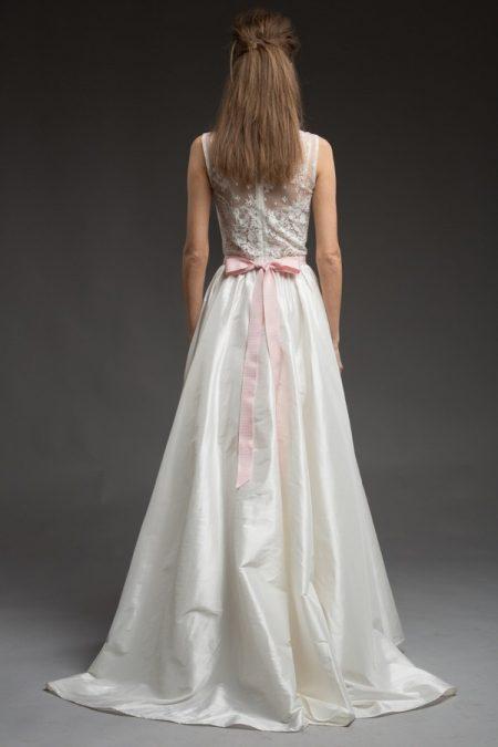 Back of Lydia Wedding Dress from the Katya Katya Shehurina Morning Mist 2017-2018 Collection