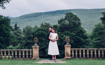 A Culcreuch Castle Hotel Wedding with Natural Styling