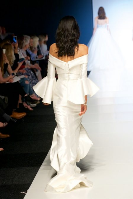 Back of Marnie Wedding Dress from the Alan Hannah Veritas 2018 Collection