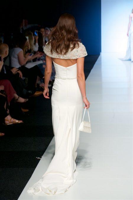 Back of Mitzi Wedding Dress from the Alan Hannah Veritas 2018 Collection