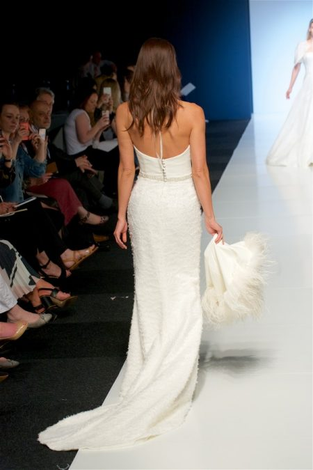 Back of Nadia Wedding Dress from the Alan Hannah Veritas 2018 Collection