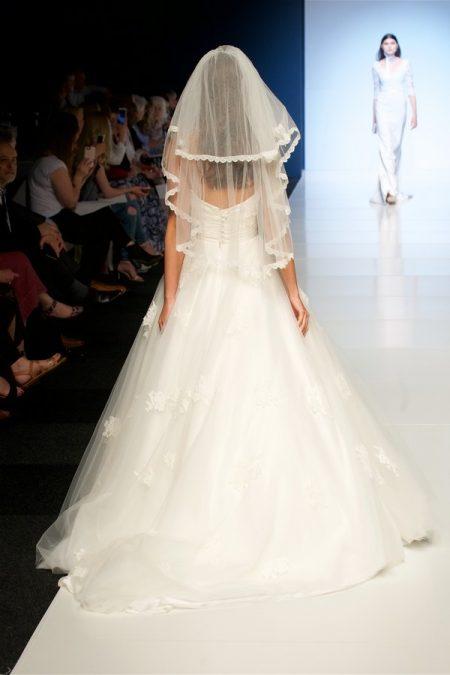 Back of Natasha Wedding Dress from the Alan Hannah Veritas 2018 Collection