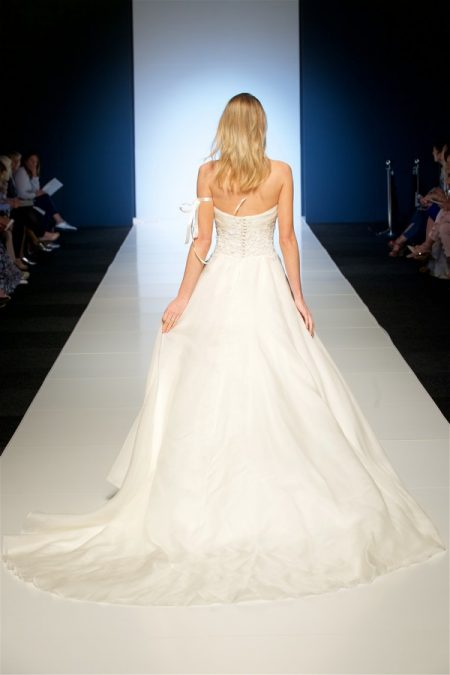 Back of Odelia Wedding Dress from the Alan Hannah Veritas 2018 Collection
