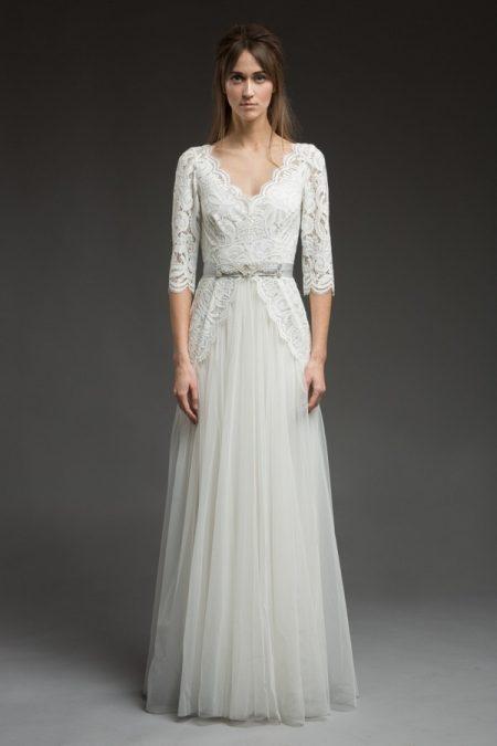 Ophra Wedding Dress from the Katya Katya Shehurina Morning Mist 2017-2018 Collection