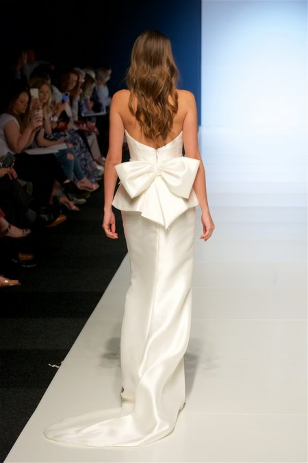 Back of Phyllis Wedding Dress from the Alan Hannah Veritas 2018 Collection