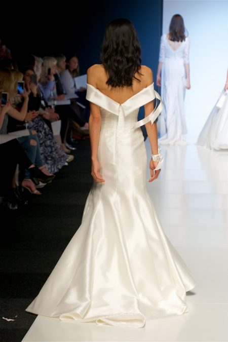 Back of Pippa Wedding Dress from the Alan Hannah Veritas 2018 Collection