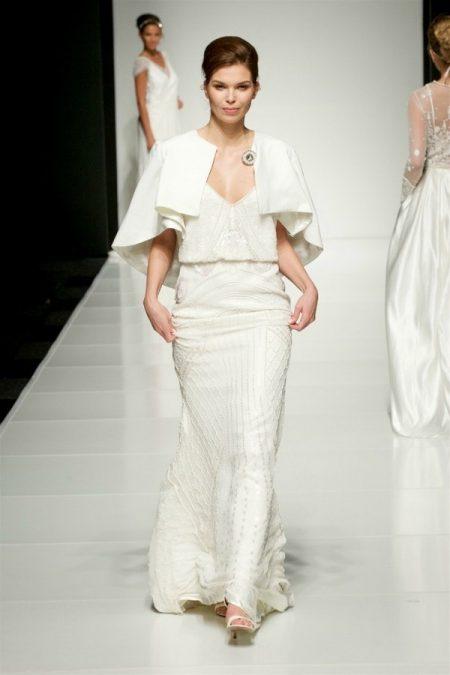 Rasha wedding dress on the White Gallery London May 2017 Catwalk