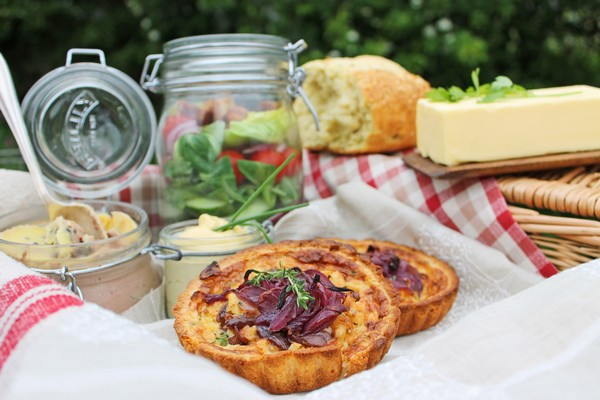 Red Onion Tarts
