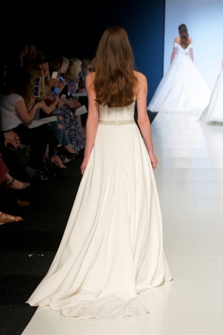 Back of Ria Wedding Dress from the Alan Hannah Veritas 2018 Collection