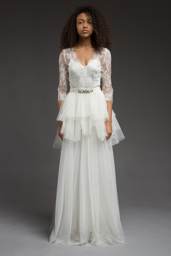 Rome Wedding Dress from the Katya Katya Shehurina Morning Mist 2017-2018 Collection