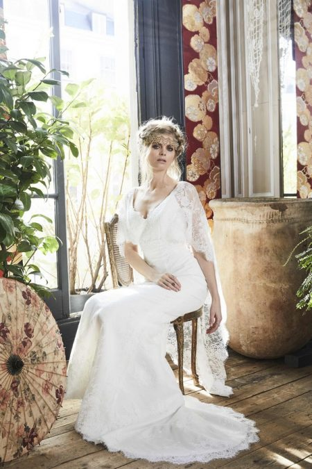 Romy Wedding Dress from the Charlotte Balbier Bohemian Blush 2018 Collection