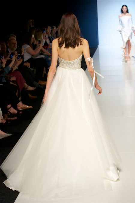 Back of Roxanne Wedding Dress from the Alan Hannah Veritas 2018 Collection