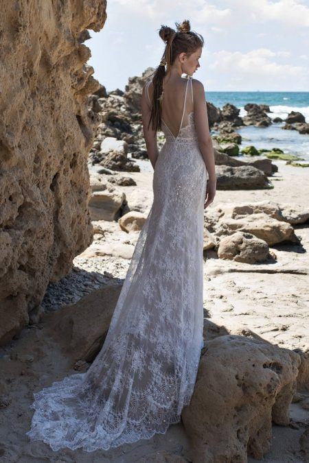 Back of Sierra Wedding Dress from Limor Rosen Free Spirit 2018 Collection