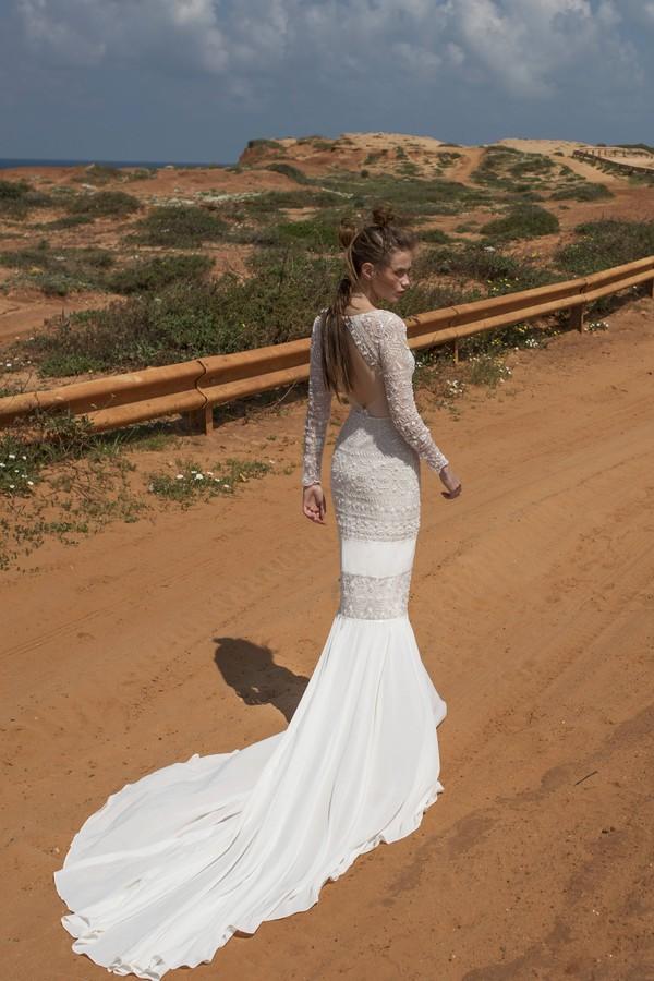 Back of Spencer Wedding Dress from Limor Rosen Free Spirit 2018 Collection