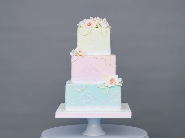 Spring Love Wedding Cake by GC Couture